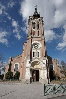 église de la paroisse Saint Vaast à Bondues